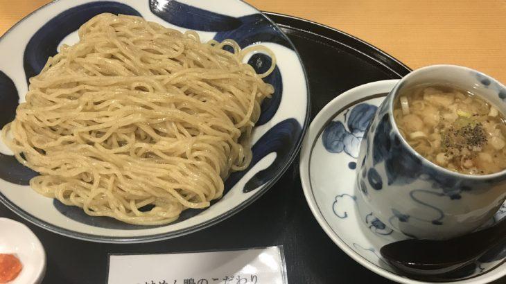【青葉】こだわりつけ麺「鴨せいろ」を錦糸町店で。日本一美味いつけ麺は青葉だと思う。